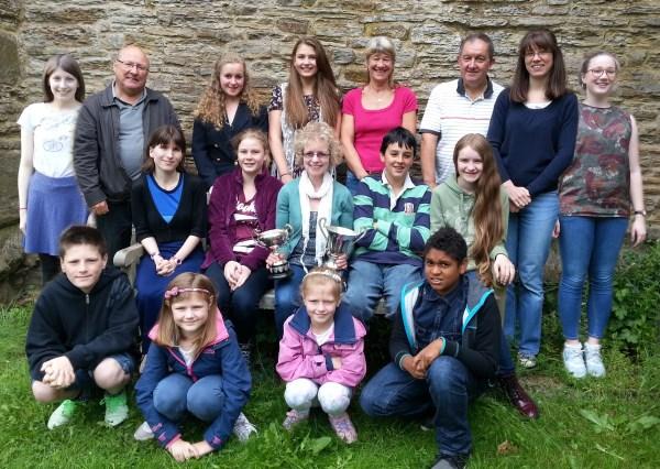 OLD BRAMPTON Bell Ringers Derbyshire