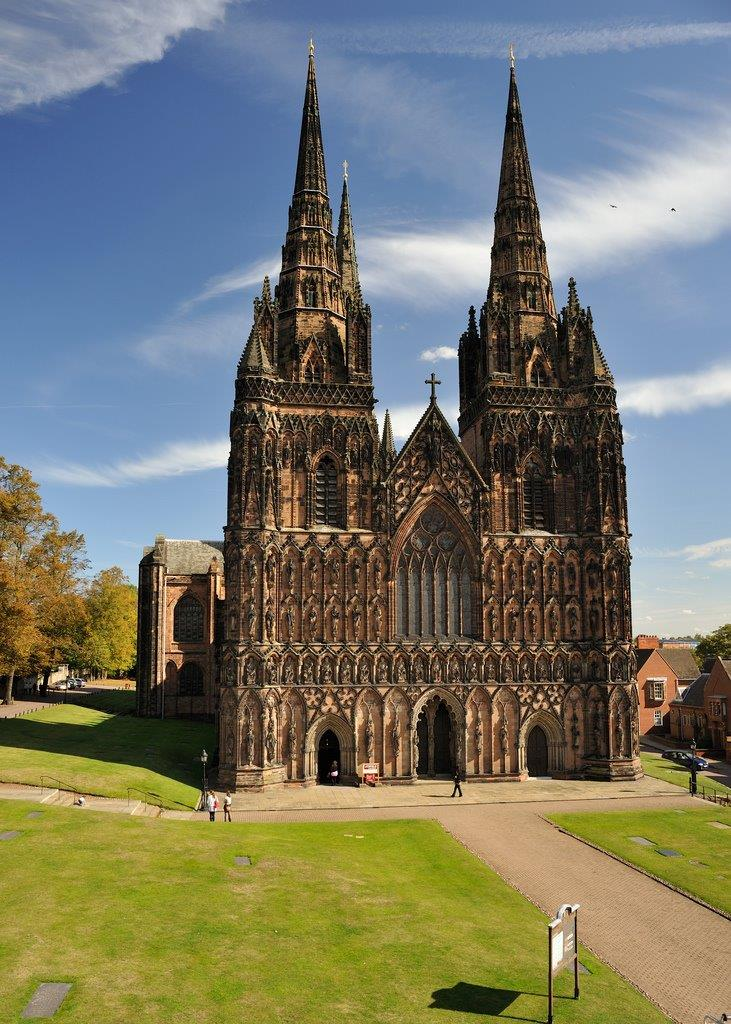 Lichfield Cathedral Image