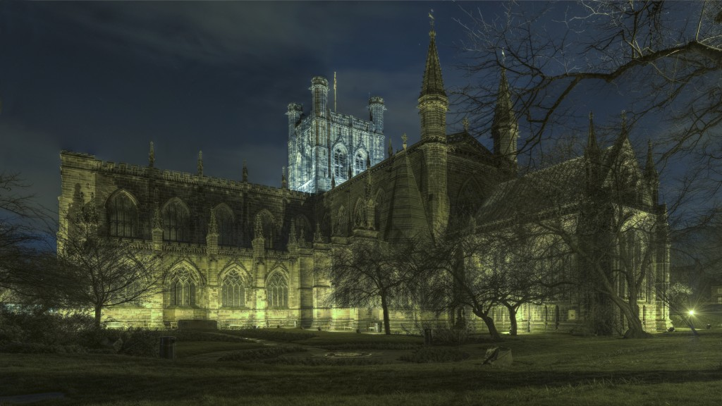 CHESTER Cathedral at Night