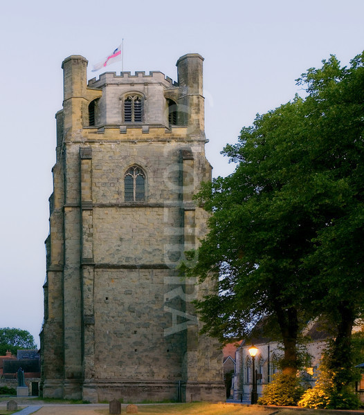 ChiChester Cathedral Bell Tower 1400 from east
