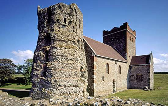 DOVER CASTLE Church & Tower