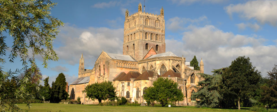 TEWKESBURY ABBEY Gloucs
