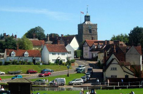 finchingfield+green
